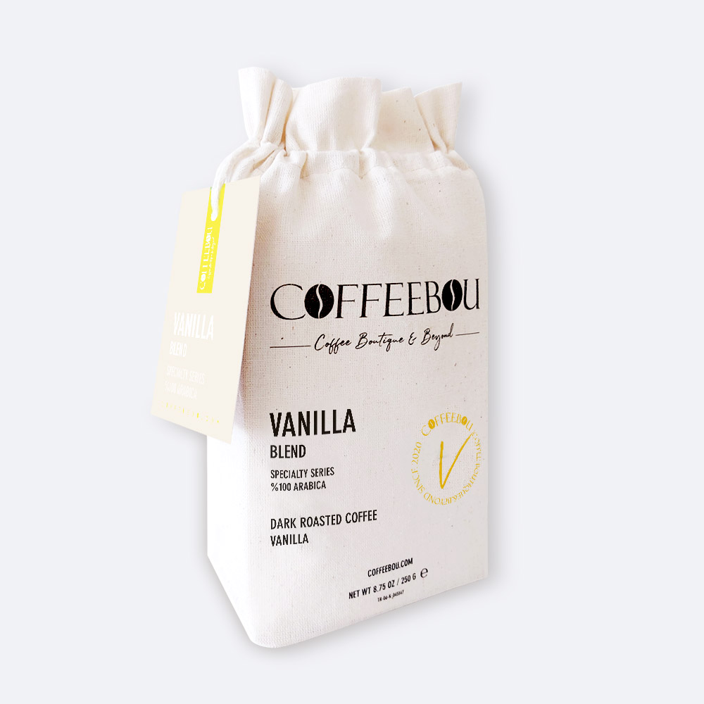 Coffeebou Vanilla Blend Öğütülmüş Filtre Kahve