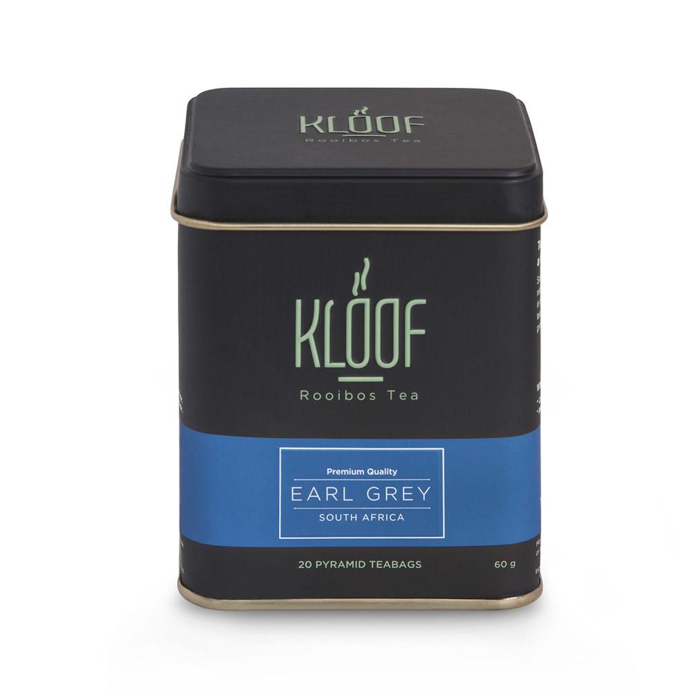 Kloof Rooibos Tea Earl Grey-Bergamut Aromalı Roybos Çayı 20'li