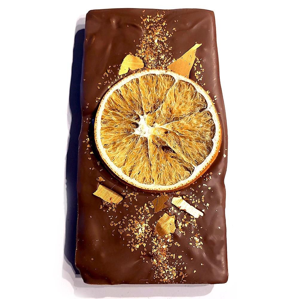 Sütlü Tablet Portakallı Çikolata