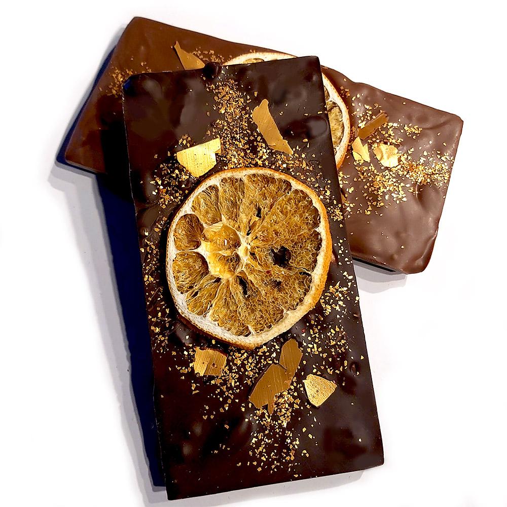 Bitter Tablet Portakallı Çikolata