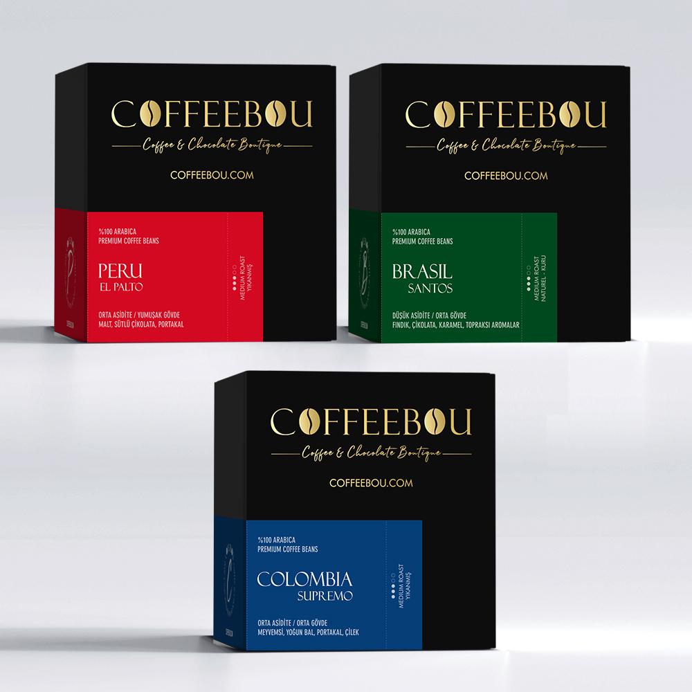 Coffeebou Güney Amerika Tadım Seti