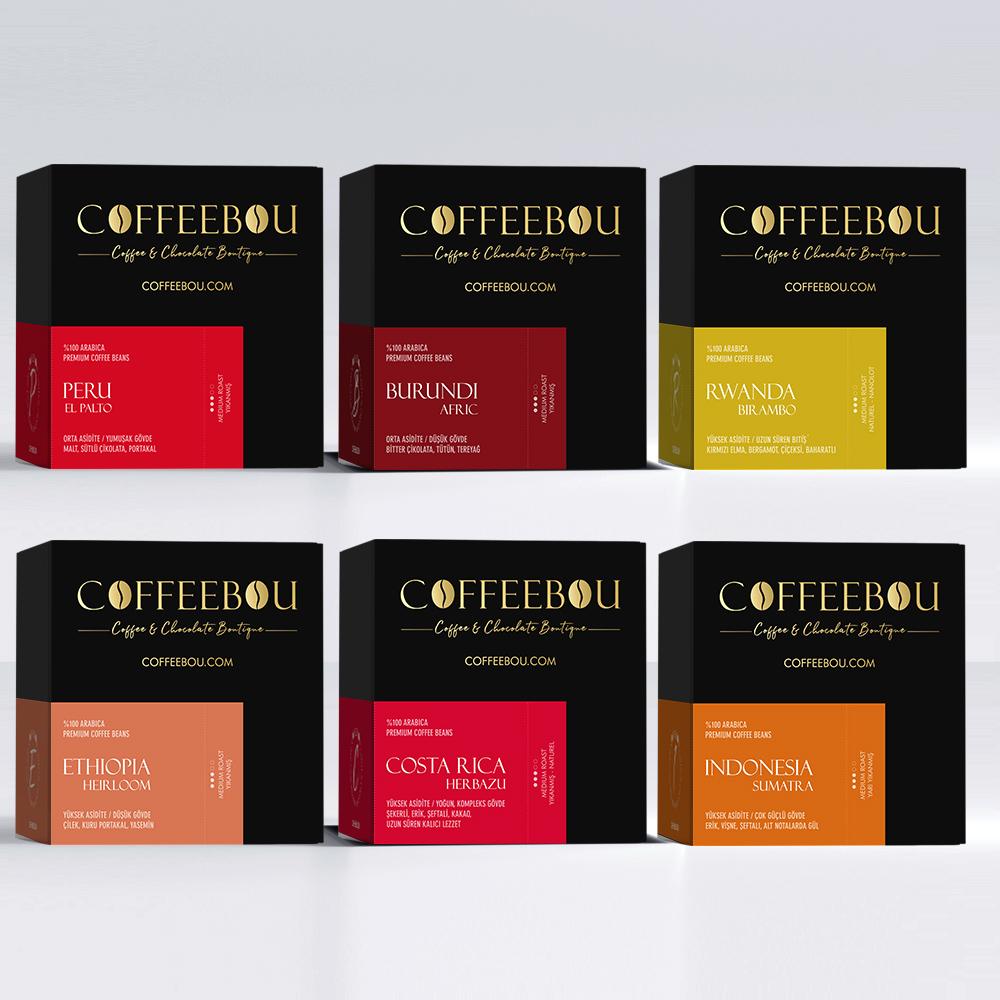 Coffeebou Gurme Tadım Seti-1