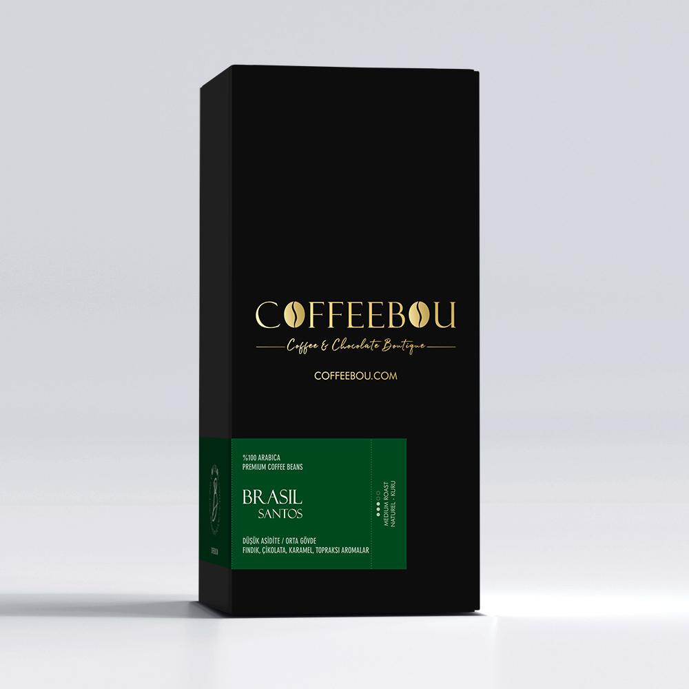 Coffeebou Brasil Santos Kahve