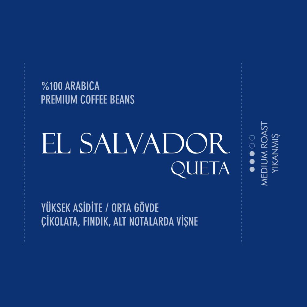 Coffeebou El Salvador Queta Çekirdek Filtre Kahve