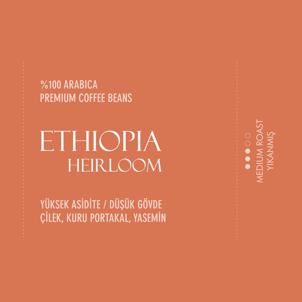 Coffeebou Ethiopia Heirloom Kahve Çekirdeği