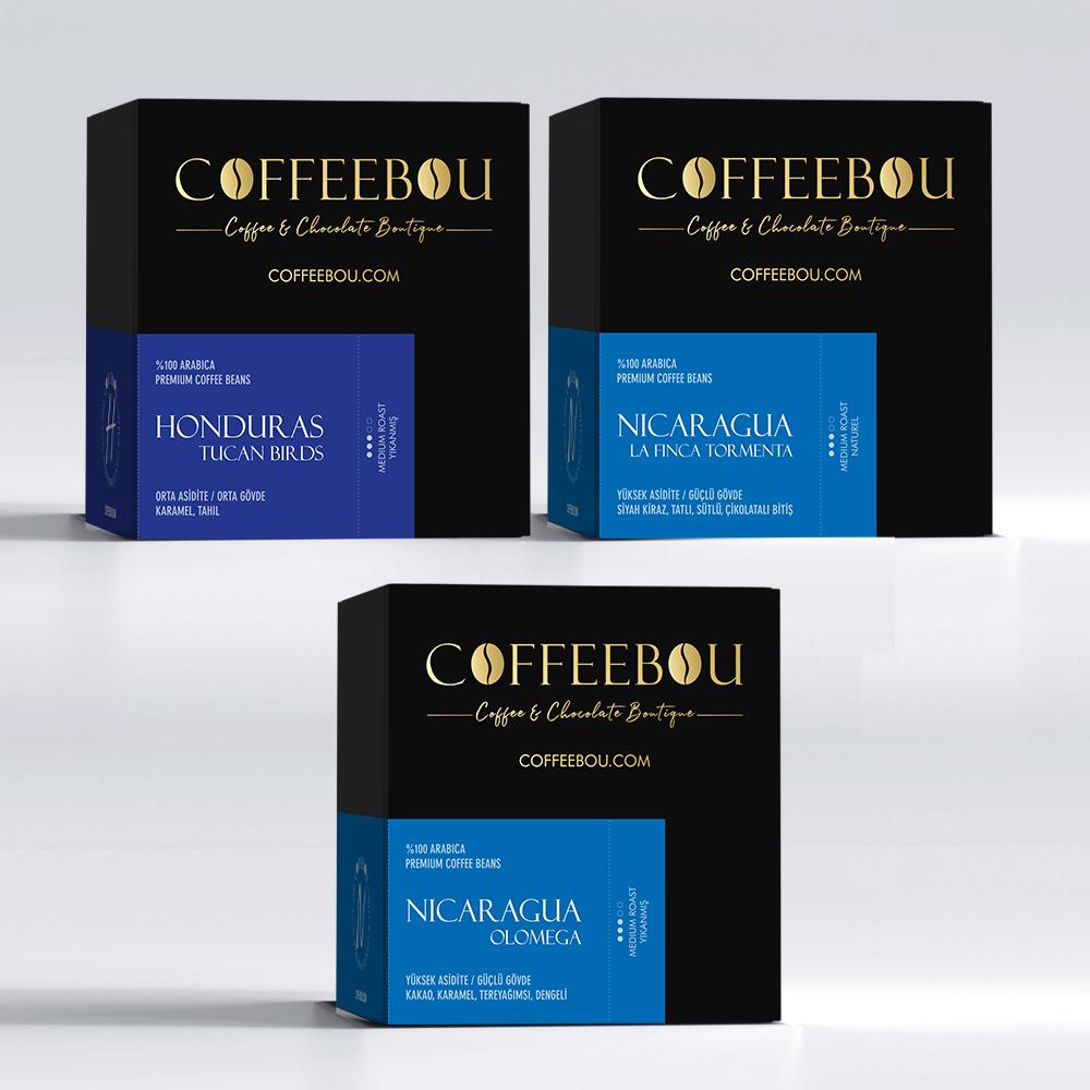 Coffeebou Orta Amerika Tadım Seti-1