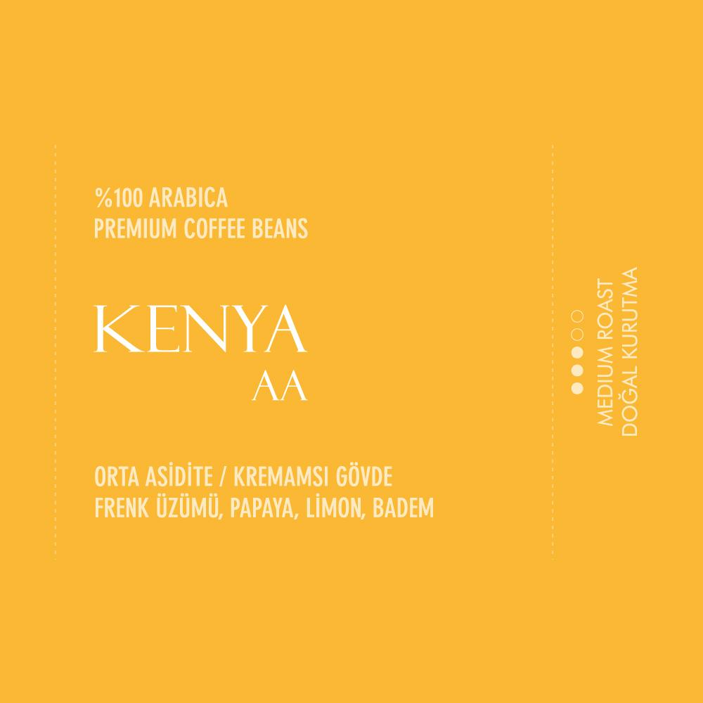 Coffeebou Kenya AA Çekirdek Filtre Kahve